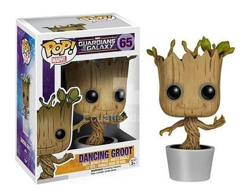 funko pop dancing groot 65 guardianes de la galaxia baloo to