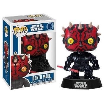funko pop darth maul star wars bobble head nuevo en caja