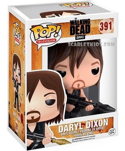 funko pop daryl dixon 391 the walking dead original pop! tv