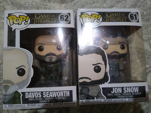 funko pop davos seaworth & jon snow
