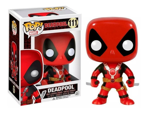 funko pop deadpool #111 marvel figura wade wilson