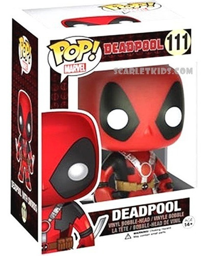 funko pop deadpool 111 original funko scarlet kids