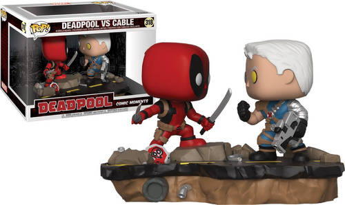 funko pop - deadpool - cable - x-force - domino - marvel