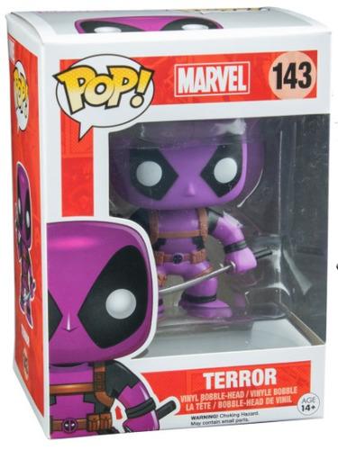 funko pop deadpool violet terror marve vinyl preventa xcl