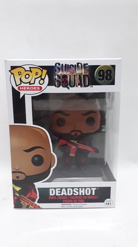 funko pop deadshot 98 suicide squad