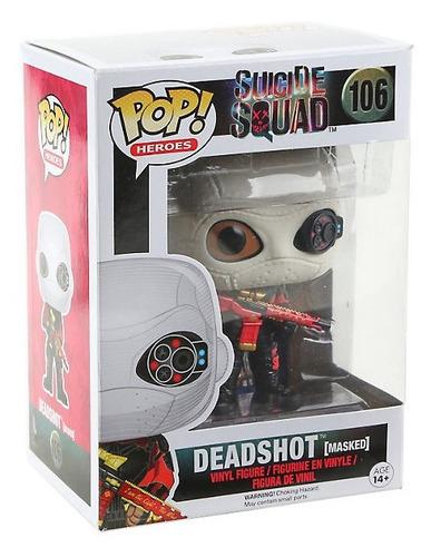funko pop deadshot masked suicide squad dc comics will smith