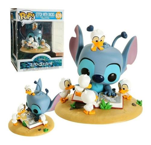 funko pop! deluxe lilo & stitch with ducks disney #639