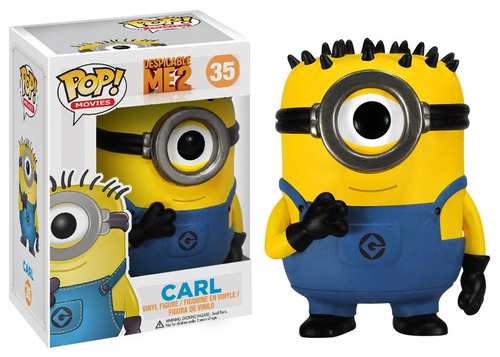funko pop despicable me carl minion nuevo original vinyl