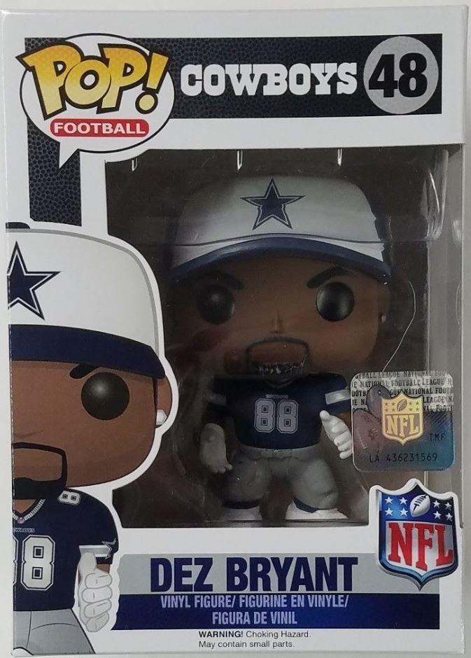 Funko Pop Dez Bryant 48 Nfl Football Dallas Cowboys Vinyl