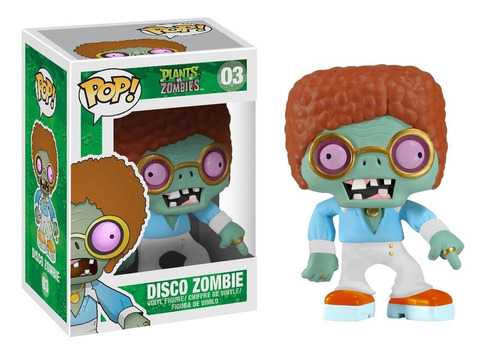 funko pop disco zombie raro plants vs zombies vinyl