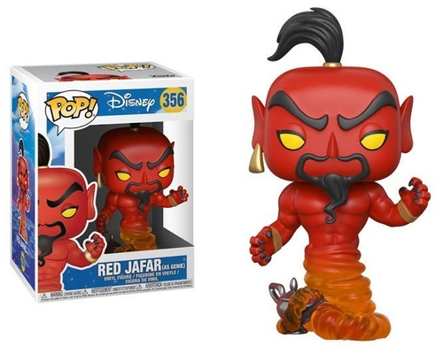 funko pop - disney - aladdin: red jafar  - nuevo - nextgames