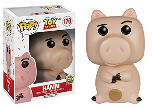 funko pop disney: figura de acción toy story hamm