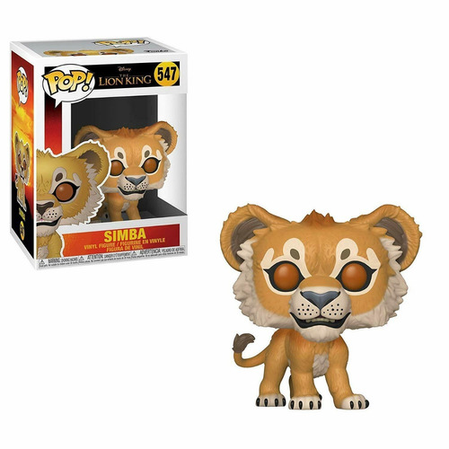 funko pop disney lion king live action simba