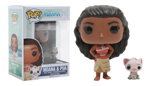 funko pop disney: moana - moana & pua