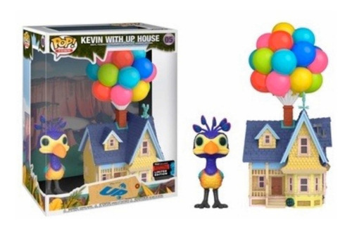 funko pop disney pixar kevin with up house nycc2019