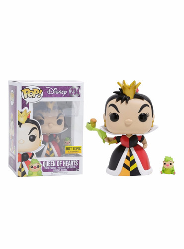funko pop disney queen of hearts rainha de copas - hot topic