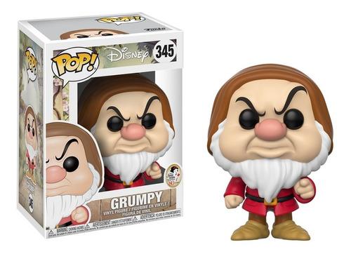 funko pop! disney: snow white - grumpy (zangado) #345
