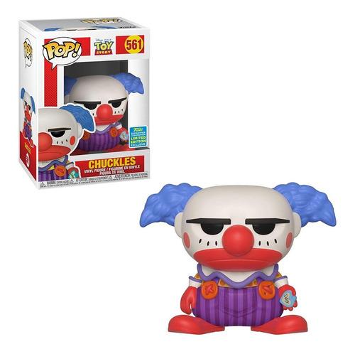 funko pop! disney: toy story - chuckles n.561 sdcc