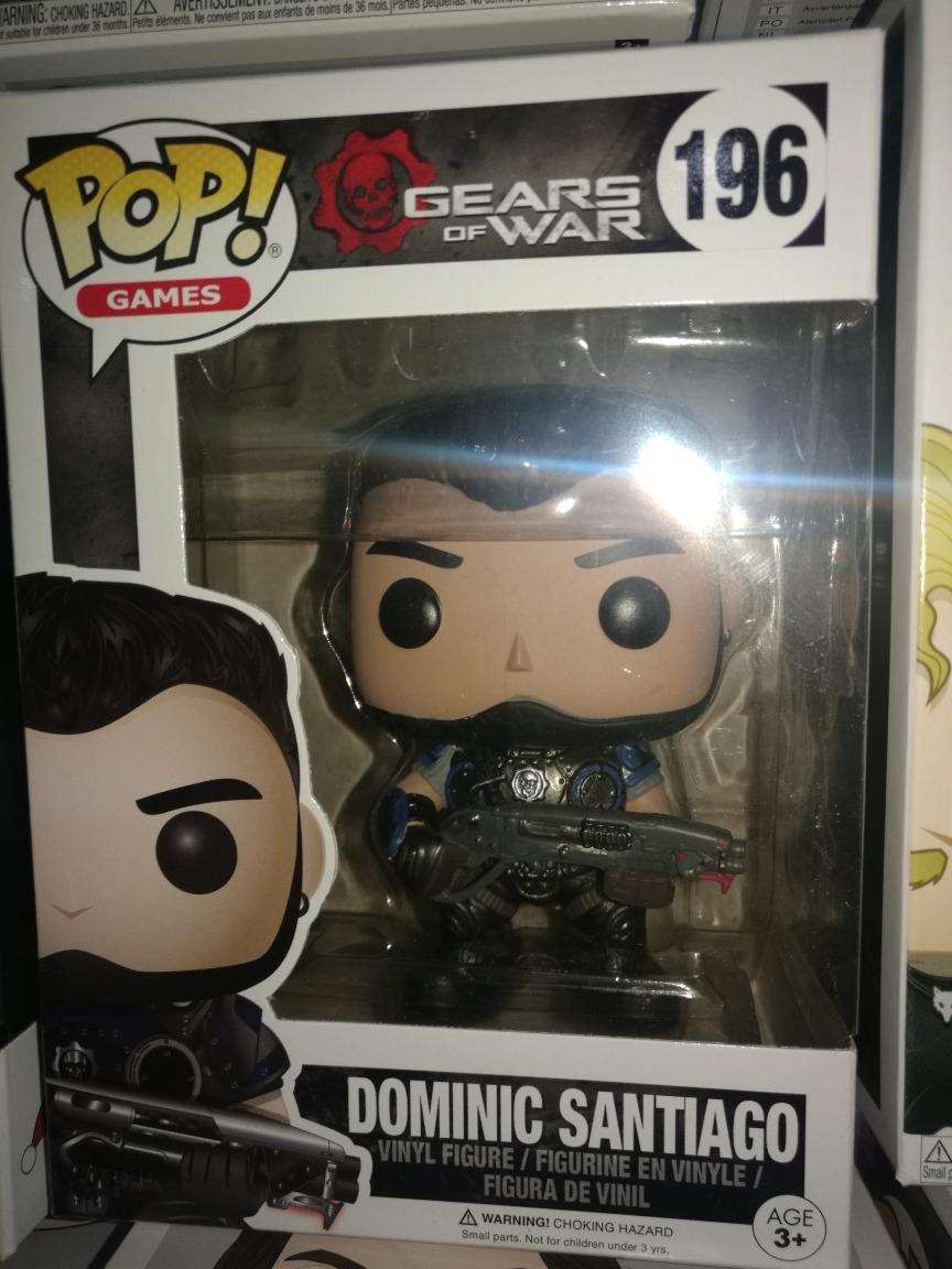 Gears of War Dominic Santiago Funko Pop