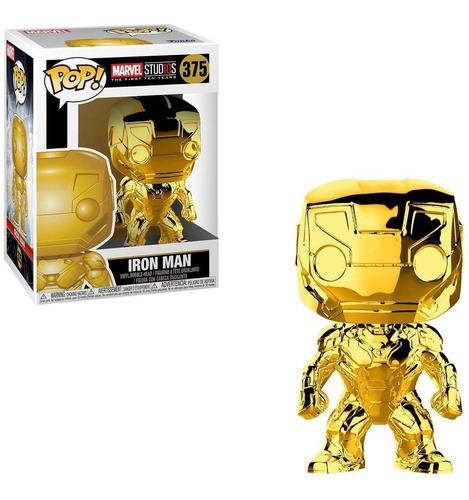 funko pop dorado marvel 10 años iron man 375