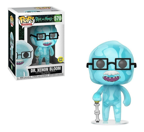 funko pop! dr. xenom bloom #570 - rick and morty