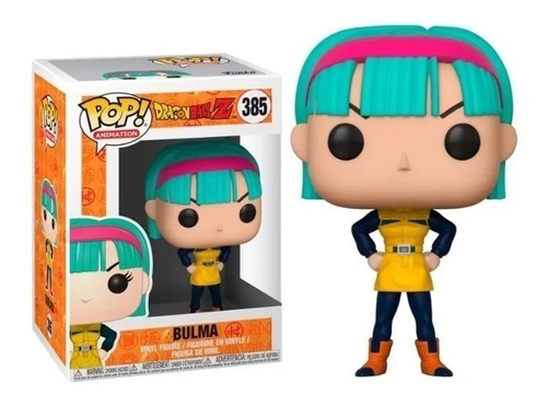 funko pop dragon ball - bulma nro 385 - e11even games