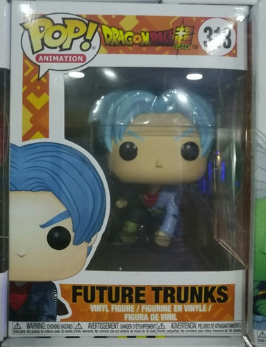 funko pop dragon ball super n°316 trunks futuro