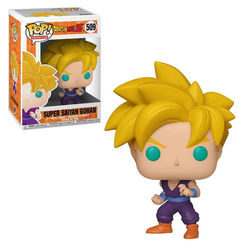 funko pop dragon ball super saiyan gohan *ex* 509 original