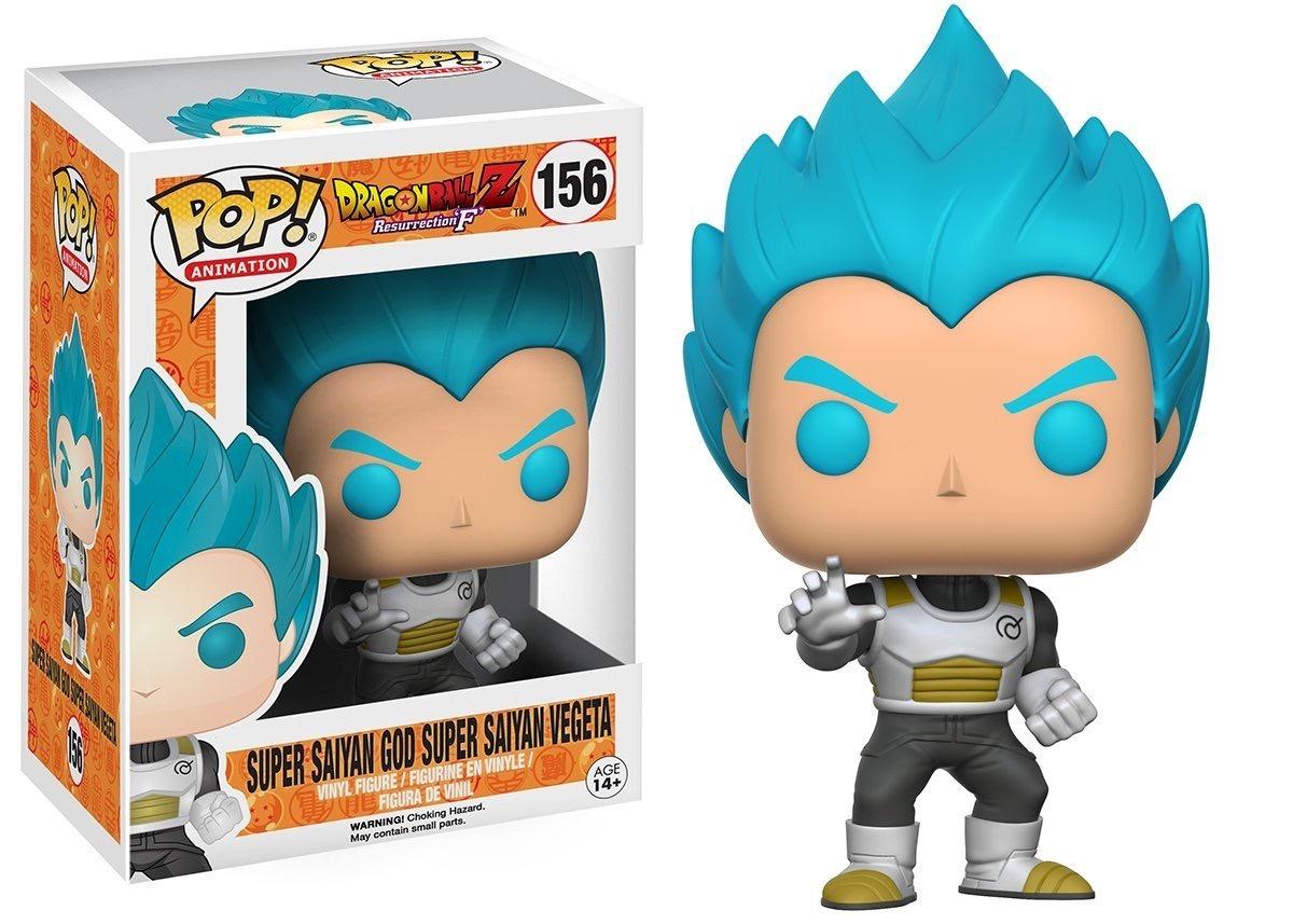 Funko Pop Dragon Ball Super Vegeta Super Saiyan God Blue