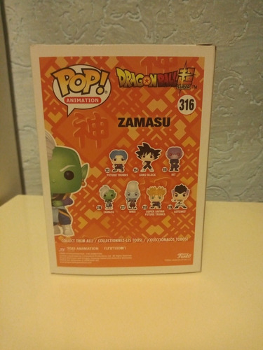 funko pop dragon ball super zamazu #316