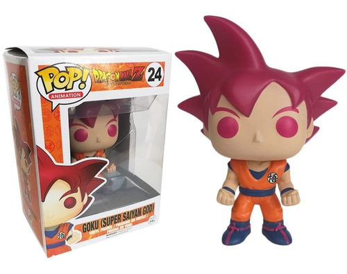 funko pop dragon ball z goku god red vegeta
