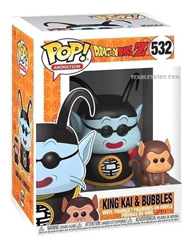 funko pop dragon ball z king kai y bubbles 532 orig scarlet