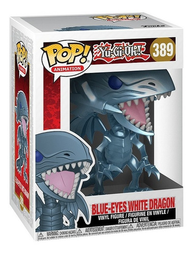 funko pop dragon blanco de ojos azules yu gi oh