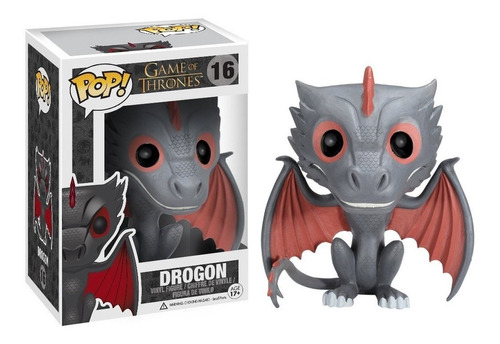 funko pop drogon 16 game of thrones en caja nuevo