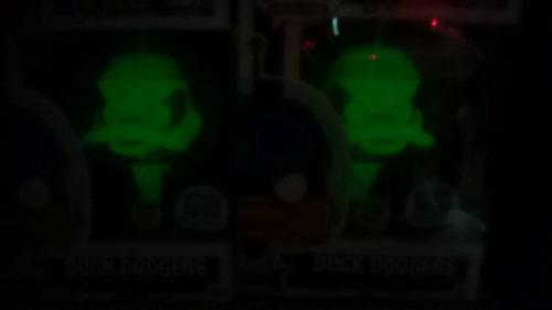 funko pop duck dodgers green gamma gitd ***