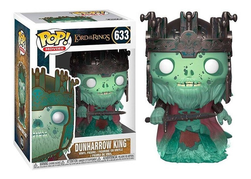 funko pop dunharrow king 633 lord of the rings