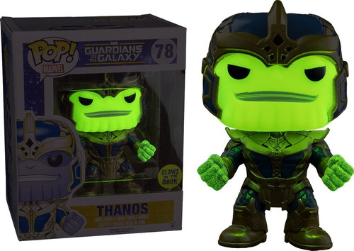 funko pop ee exclusive glow in the dark thanos