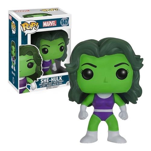 funko pop figura marvel she-hulk n#147 | en stock!