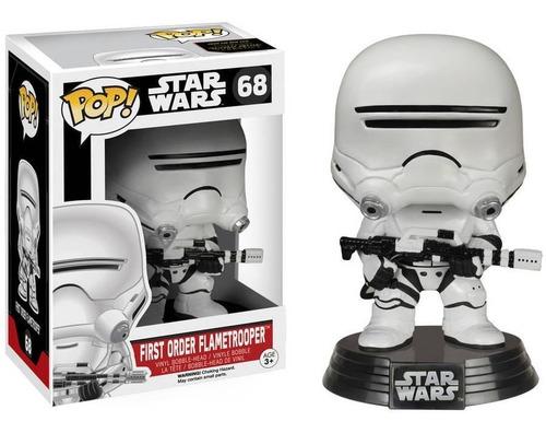 funko pop flametrooper - star wars vii force awakens fu-6224