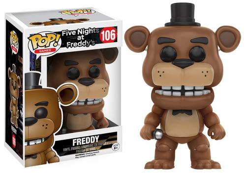 funko pop fnaf five nights at freddy's freddy