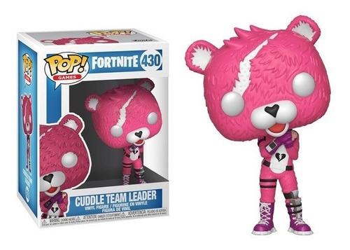 funko pop fortnite cuddle team leader 430 - minijuegos
