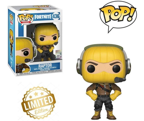 funko pop fortnite raptor 436