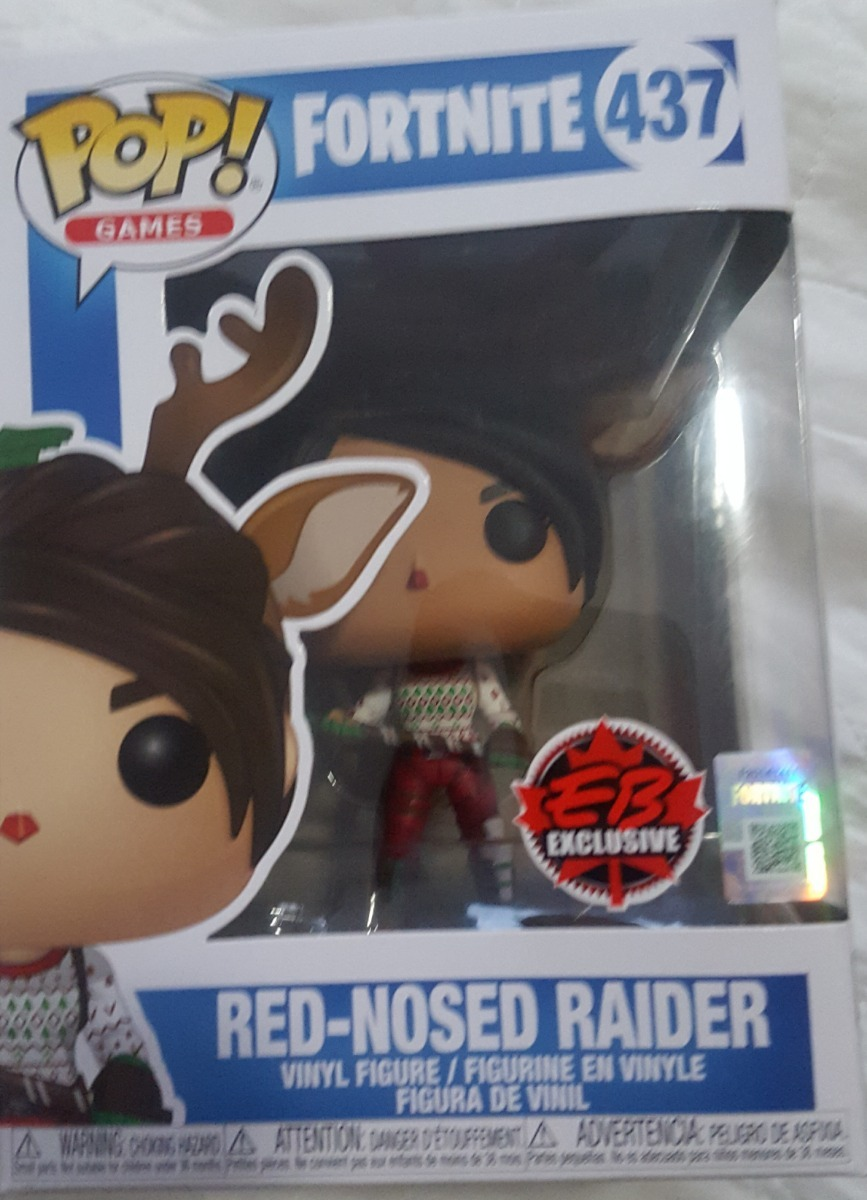 funko pop fortnite red nosed raider original exclusivo - red nosed raider fortnite pop