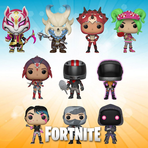 funko pop! fortnite - skull -marauder -black -omega
