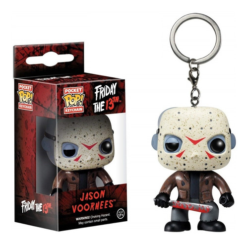funko pop friday the 13 jason voorhees llavero  dia del niño