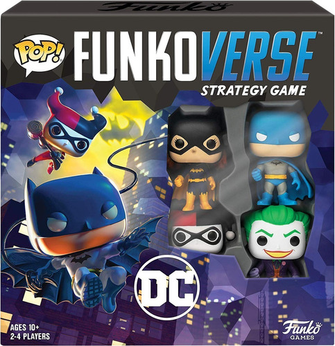 funko pop - funkoverse - batman - joker - deadpool - rick