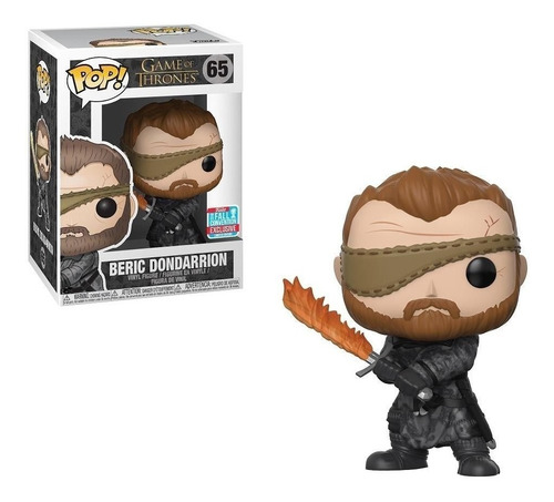 funko pop game of thrones beric dondarrion nycc 2018