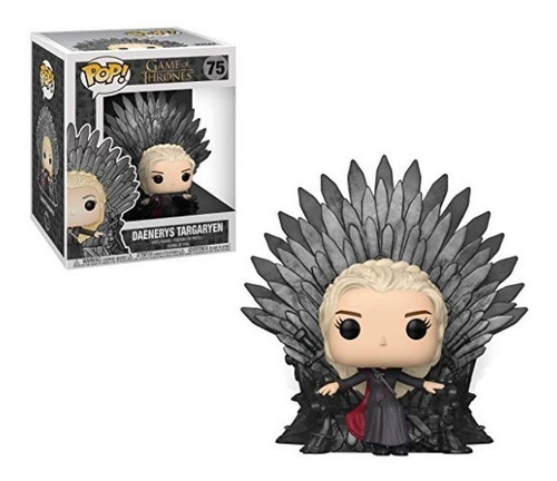 funko pop! game of thrones daenerys en trono #75 original