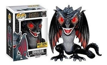 funko pop! - game of thrones - drogon 6  (hot topic)