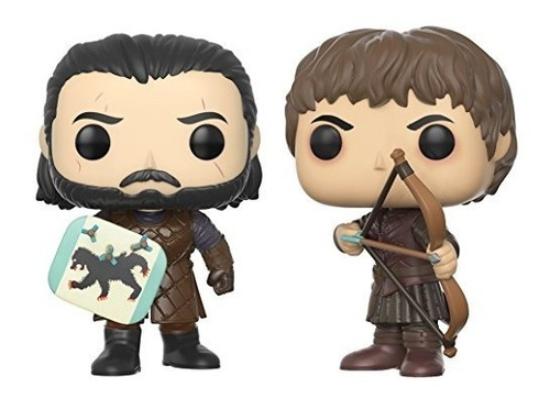 funko pop game of thrones jon snow & ramsay bolt  buho store
